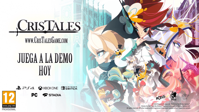 Cris Tales lanza su demo para Switch, PS4 y Xnox One