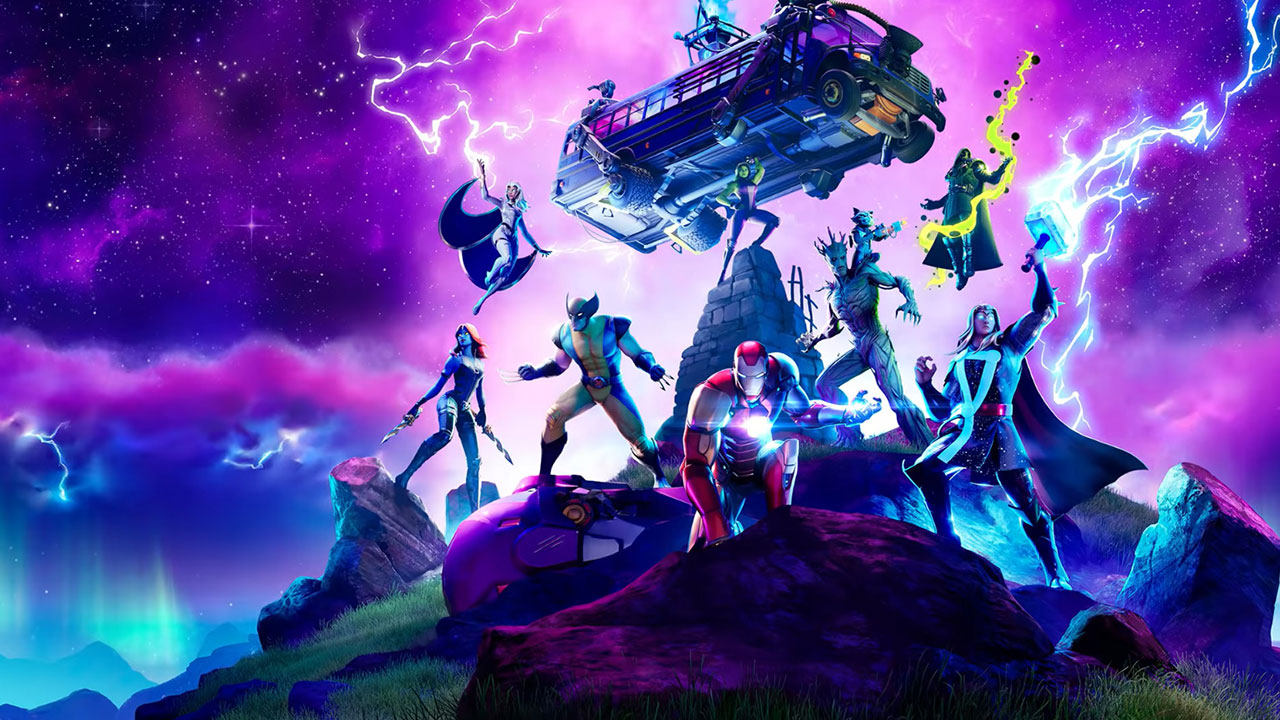 Fortnite introduce superhéroes y villanos de Marvel en la actualización de Nexus War. Lobezno, She-Hulk, Iron Man, y más están ahora en el universo Fortnite.