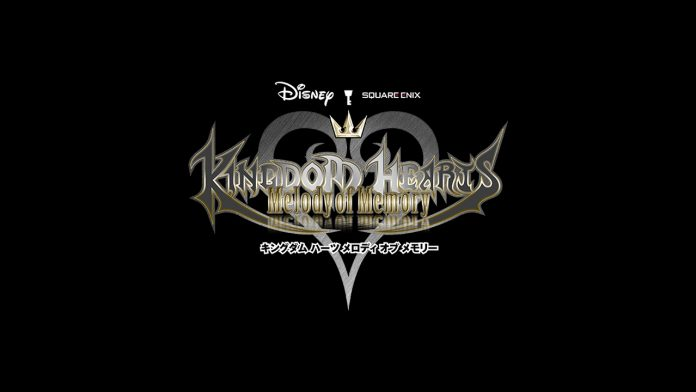 Kingdom Hearts Melody of Memory Portada