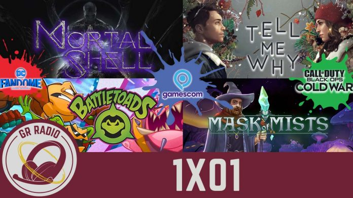 GRR (1X01) Gamescom 2020 | Call of Duty Black Ops Cold War | Gotham Knights y Suicide Squad | Mortal Shell | Tell Me Why | Battletoads| Mask of Mists