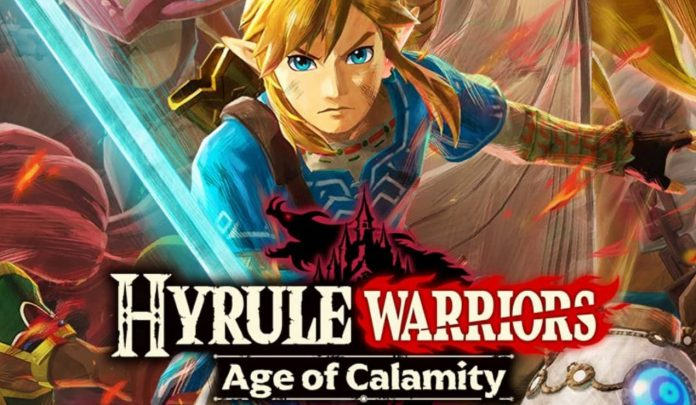 Hyrule Warriors Age of Calamity para switch
