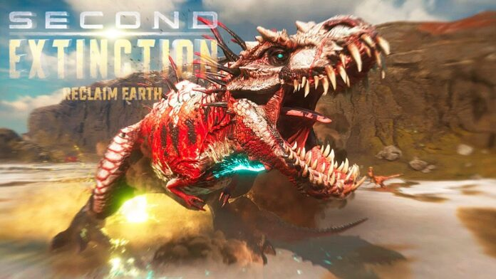 Second Extinction, el juego multijugador para fans de los dinosaurios, ya esta disponible en Early Access.