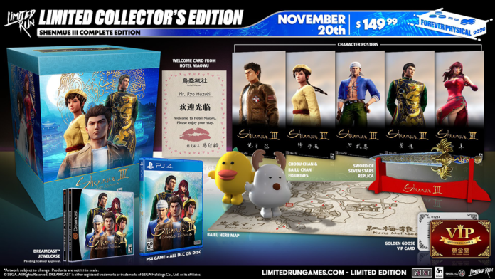 Shenmue III Complete Edition llega a PlayStation 4