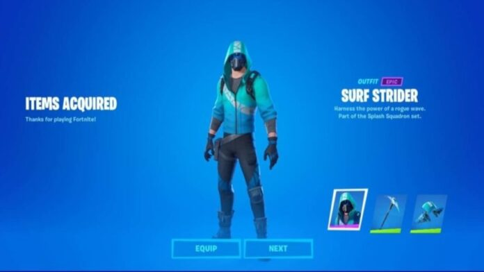 Os contamos como conseguir la skin de Splash Squadron totalmente gratis en Fortnite, para darle un toque surfero al battle royale de Epic Games.