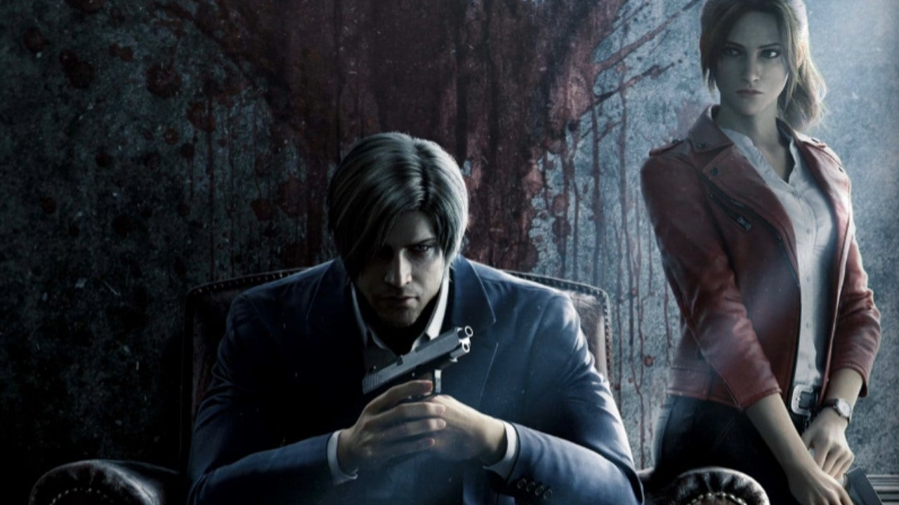 resident evil infinite darkness leon and claire