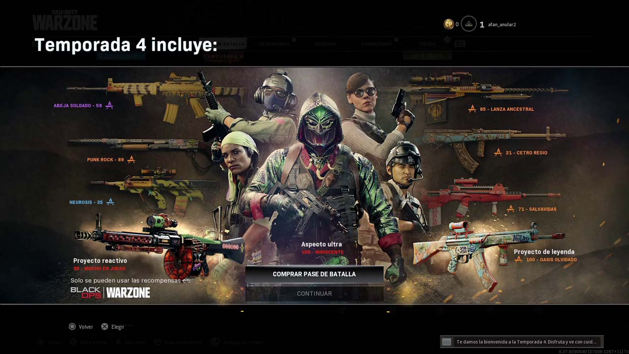 Call of Duty Warzone battle pass
