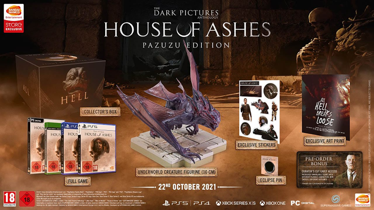 The Dark Pictures: House of Ashes Collector's Edition